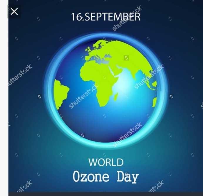 🌏 अंतर्राष्ट्रीय ओज़ोन दिवस - 16 . SEPTEMBER shuti utterstock shutterstock shutterstock shutterstock WORLD Ozone Day S - stock stock - ShareChat