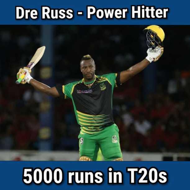 🔯आज का राशिफल / पंचांग ☀️ - Dre Russ - Power Hitter 5000 runs in T20s - ShareChat