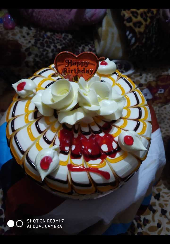 🍧कुछ मीठा हो जाए - Happy Birthday SHOT ON REDMI 7 AI DUAL CAMERA - ShareChat