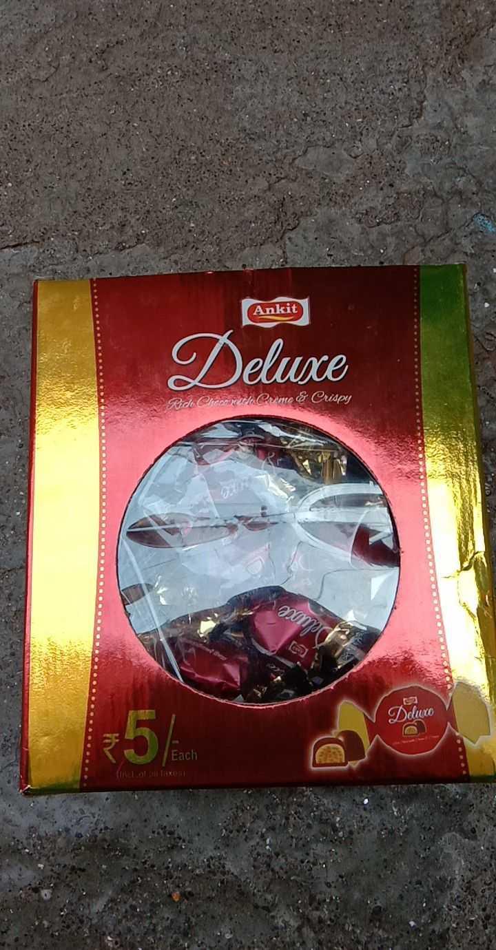 🎂केक / चॉकलेट / स्वीट /आईस-क्रीम - Ankit Deluxe Ride Clero petti : Carme & Crispy . . QQQSOODOO . GOD . . . 201 Dduce Each - ShareChat