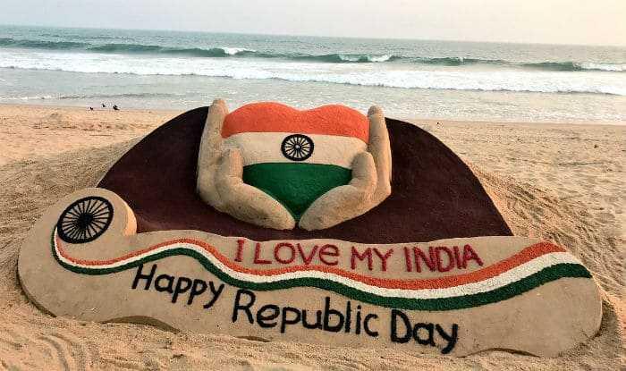 🙏गणतंत्र दिवस की शुभकामनाएं - I LOVE MY INDIA happy Republic Day - ShareChat