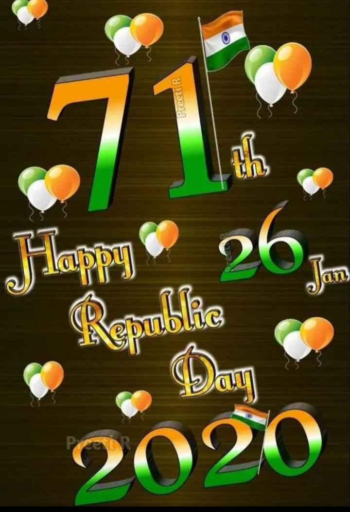 🙏गणतंत्र दिवस की शुभकामनाएं - Preeti R Happy Republe 2020 - ShareChat