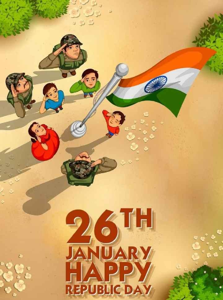 🙏गणतंत्र दिवस की शुभकामनाएं - 26TH JANUARY HAPPY REPUBLIC DAY - ShareChat