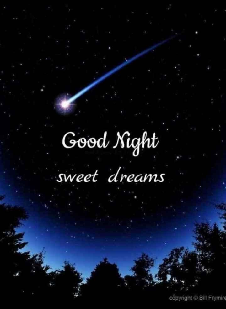 🌙 गुड नाईट - Good Night sweet dreams copyright © Bill Frymire - ShareChat