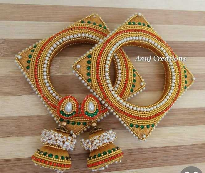 💎चूड़ियाँ-ईयररिंग्स - Anuj Creations - ShareChat
