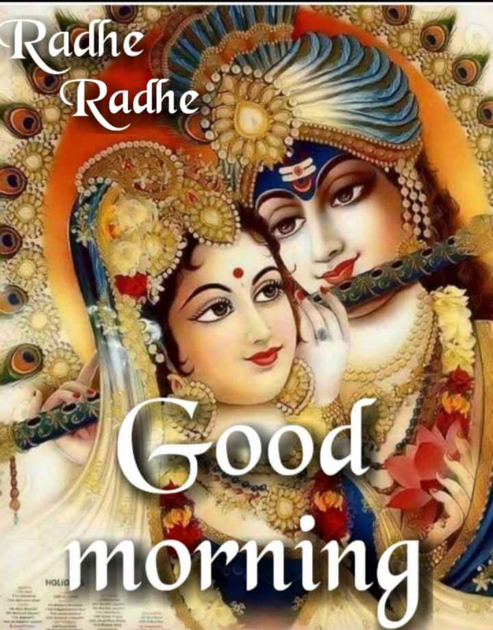 🌸 जय श्री कृष्ण - Radhe JIM Radhe Good ! morning Holid - ShareChat