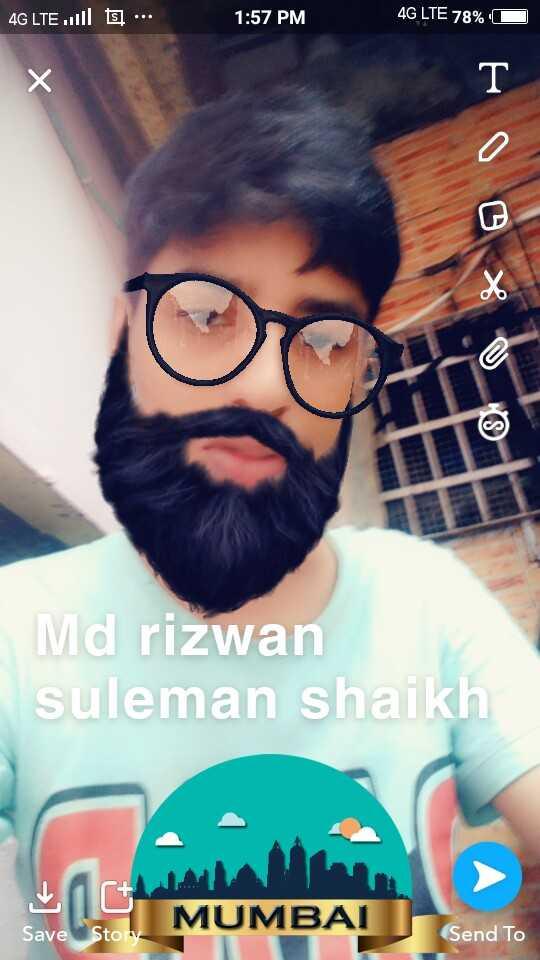 🕋जुमा मुबारक🕋 - 4G LTE l t . . . 1 : 57 PM 4G LTE 78 % D Md rizwan suleman shaikh MUMBAI Save Story Send To - ShareChat