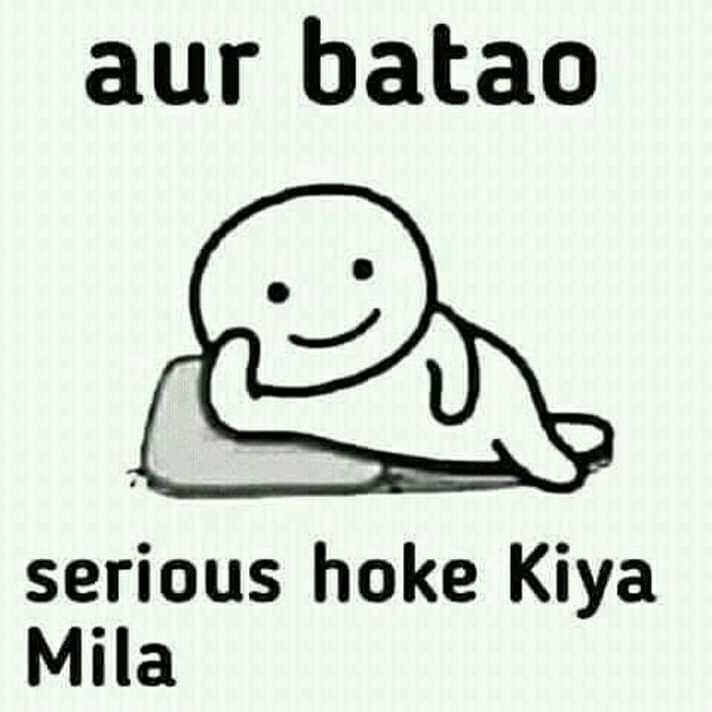 🤣 जोक्स 🤣 - aur batao Ris ) serious hoke Kiya Mila - ShareChat