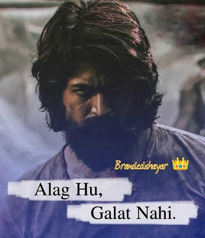 💔 दर्द-ए-दिल - Branded shayar . Alag Hu , Galat Nahi . - ShareChat