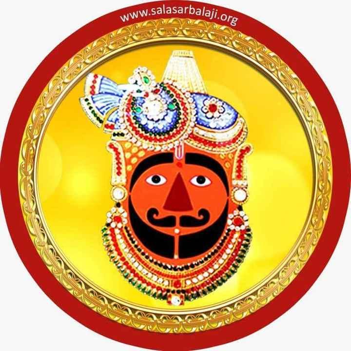 धर्म-भक्ति रा चित्र - rbalaji . org www . salasarbala SU 22 E - ShareChat