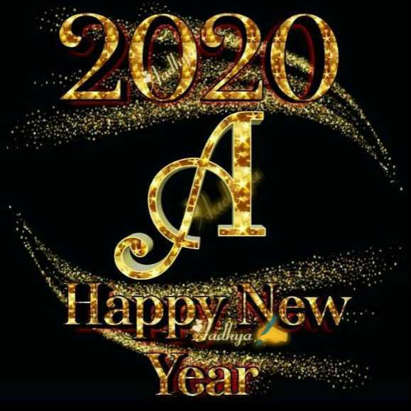 🖌नाम आर्ट - 2020 Happy New stadhya - ShareChat