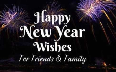 🎉 न्यू ईयर सेलिब्रेशन - V Happy New Year Wishes For Friends & Family - ShareChat