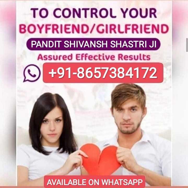 😋न्यू ईयर फ़ूड 🥗 - TO CONTROL YOUR BOYFRIEND / GIRLFRIEND PANDIT SHIVANSH SHASTRI JI Assured Effective Results + 91 - 8657384172 AVAILABLE ON WHATSAPP - ShareChat