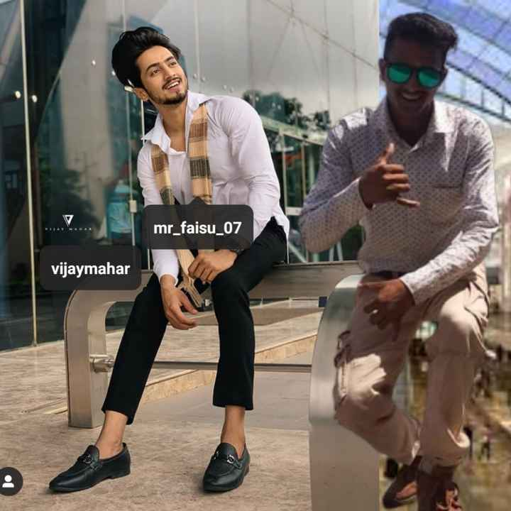 👗फैशन टिप्स - mr _ faisu _ 07 vijaymahar - ShareChat