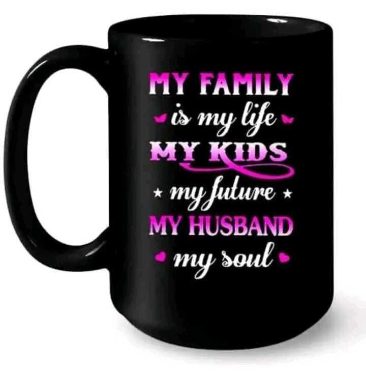 फोटो स्टेटस - MY FAMILY is my life MY KIDS * my future * MY HUSBAND • my soul - ShareChat