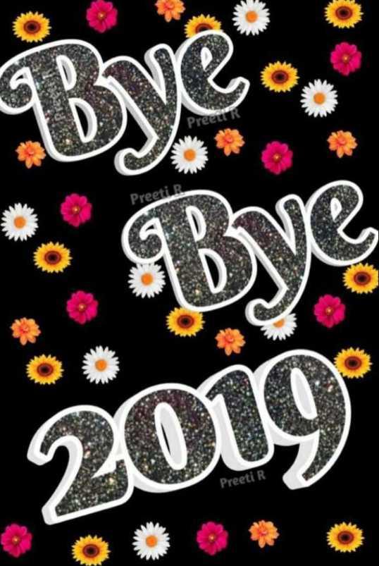 👋 बाय बाय 2019 - Bres , PreR Preeti Bye 2010 Preeti R - ShareChat