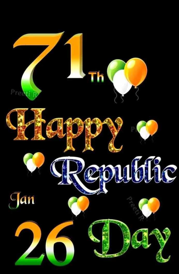 💐मेरा भारत महान - 71 . 9 Pre Happy Republic 26 Day Jan Preeti - ShareChat