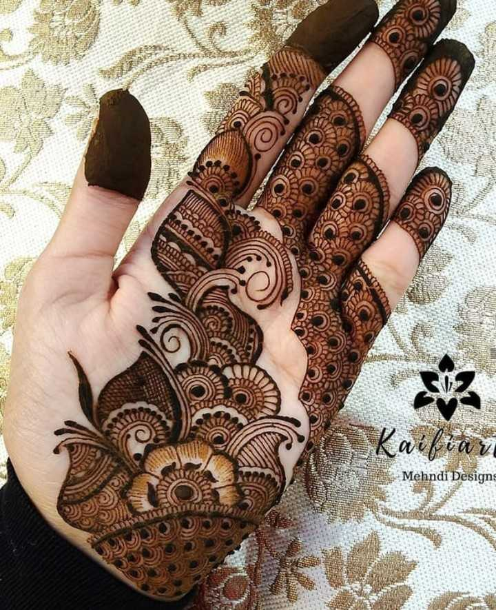 🔅मेहंदी - wilta v Mehndi Designs - ShareChat