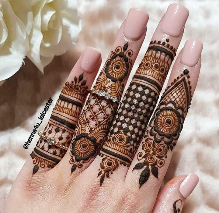 🔅मेहंदी - @ henna4u _ leicester mittlun - ShareChat