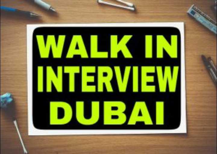 📰 राष्ट्रीय प्रेस दिवस - WALK IN INTERVIEW DUBAI - ShareChat