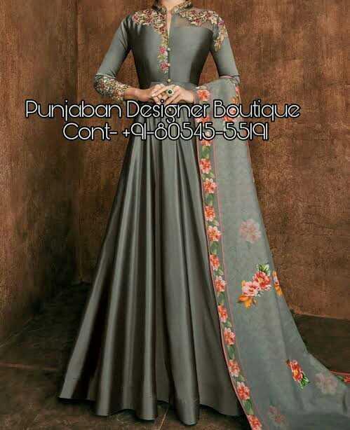 👗 लॉन्ग ड्रेस - Punjaban Desioner Boutique Cont - + 91 - 80545 - 5519 - ShareChat