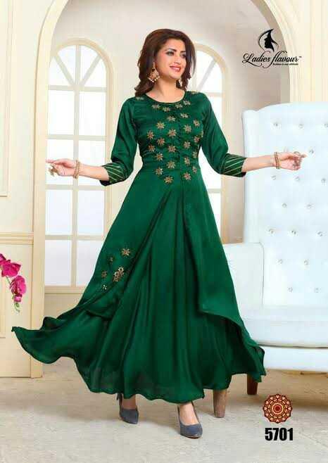 👗 लॉन्ग ड्रेस - 5701 . Amony saipps - ShareChat