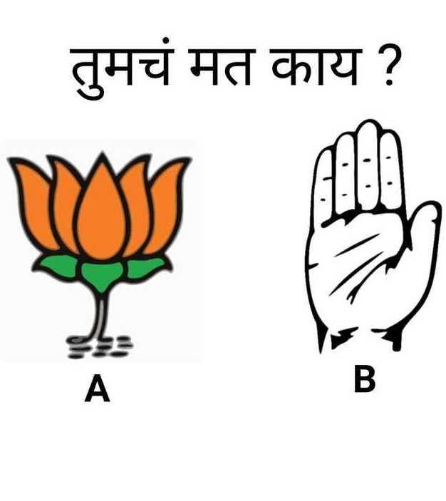 🗳लोकसभा निवडणूक 2019 - | तुमचं मत काय ? - ShareChat