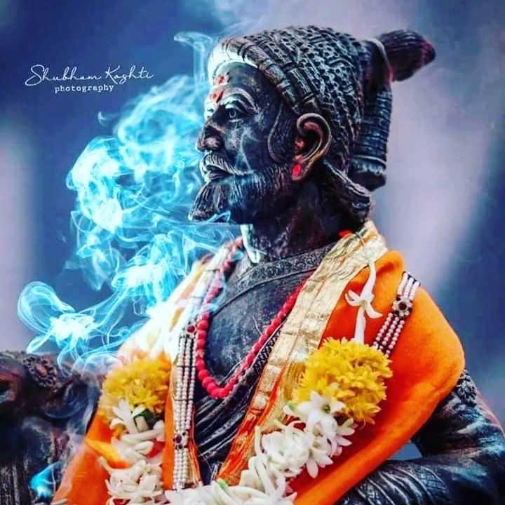 🚩शिवराय - Shubham Kaghti photography - ShareChat