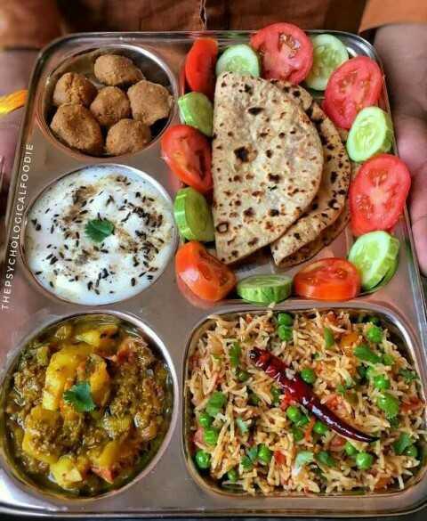 🥗शुद्ध शाकाहारी भोजन - THEPSYCHOLOGICALFOODIE - ShareChat