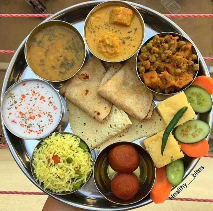 🥗शुद्ध शाकाहारी भोजन - Healthy _ _ bites - ShareChat