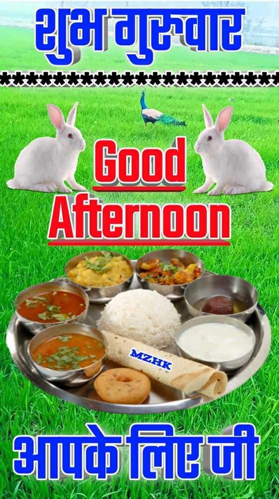 🕛 शुभ दोपहर☺ - 2 [ afdtele Good Afternoon MZHK LEEPLA 14 . Teti - ShareChat