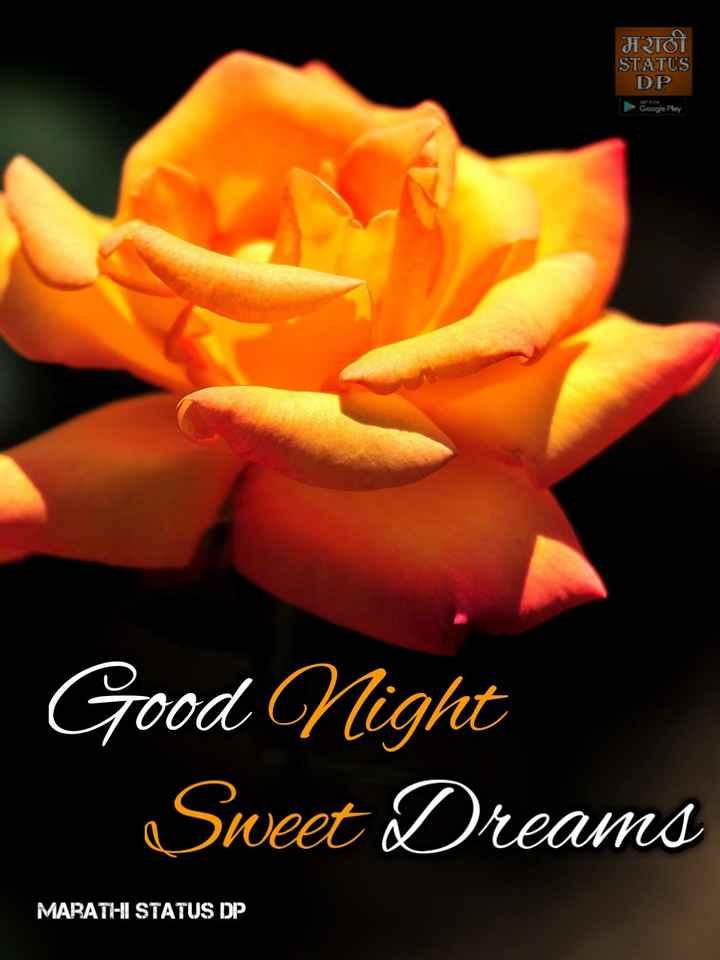 🌙शुभरात्रि - मराठी STATUS DP Google Play Good Night _ Sweet Dreams MARATHI STATUS DP - ShareChat