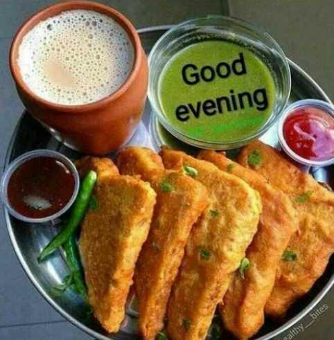 🌜 शुभ संध्या🙏 - Good evening ealthy _ bites - ShareChat