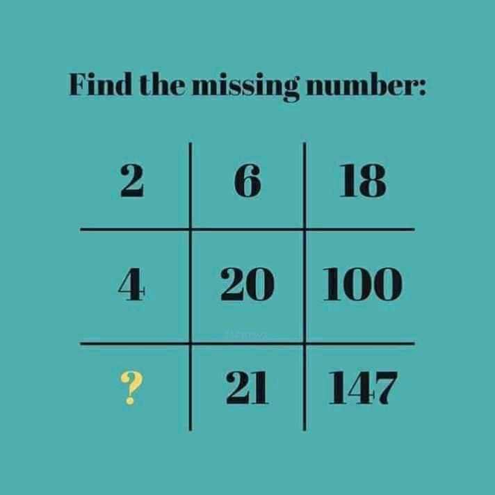 💡 ज्ञान की बातें - Find the missing number : 100 - ShareChat