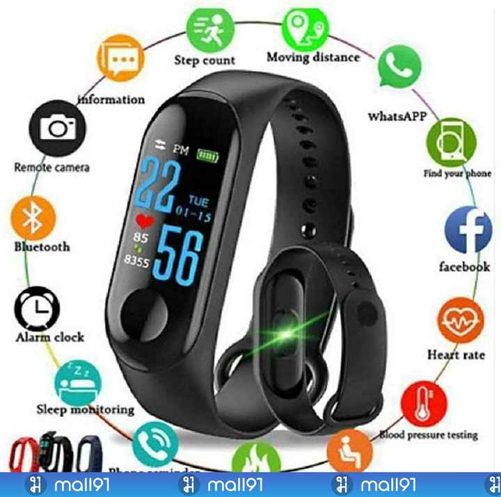😞सॉरी बेबी😥 - Step count Moving distance information whatsAPP = PM ) Remote camera Find your phone TUE 01 - 15 85 Bluetooth 8355 facebook Alarm clock Heart rate Sleep monitoring Blood pressure testing 1 mal197 H mal197 1 mal197 GF - ShareChat
