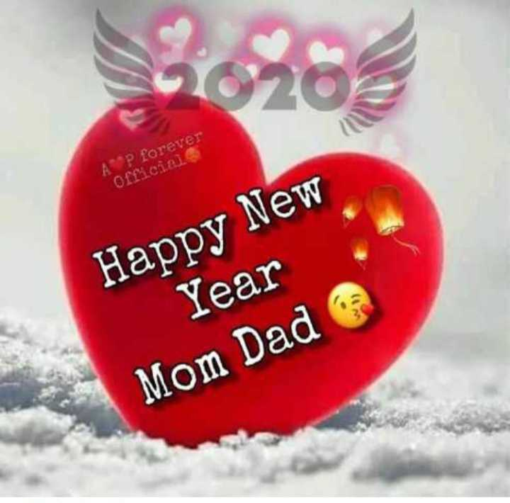 🎉 हैप्पी न्यू ईयर 2020 - AP forever Official Happy New Year Mom Dad - ShareChat