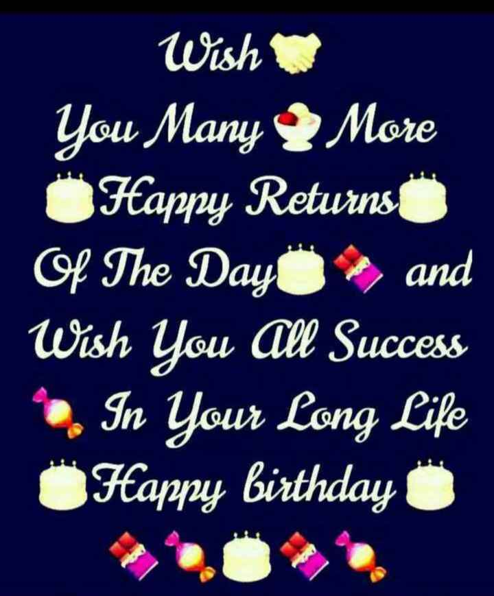 🎂 हैप्पी बर्थडे अटल जी 💐 - Wish You Many More Happy Returns Of The Day and Wish You All Success In Your Long Life Happy birthday 0 - ShareChat