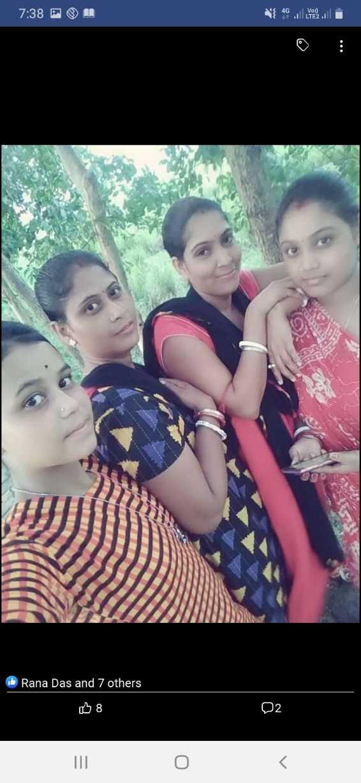 আমায় হেব্বি লাগছে😎 - 7 : 38 PM { 4G will you li Rana Das and 7 others B8 08 02 D2 - ShareChat