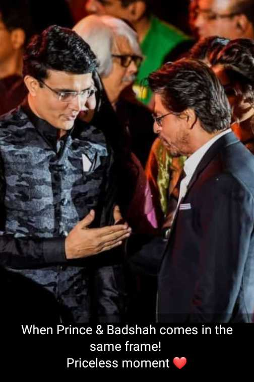 কলকাতা চলচ্চিত্র উৎসব 🎞 - When Prince & Badshah comes in the same frame ! Priceless moment - ShareChat