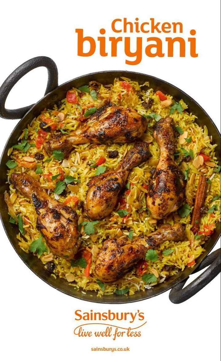 🍱 বিরিয়ানি 🍱 - . Chicken . biryani Sainsbury ' s Live well for less sainsburys . co . uk - ShareChat