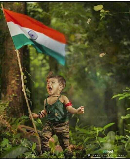 ভারত মাতা কি জয় - 99 feel Manta - ShareChat