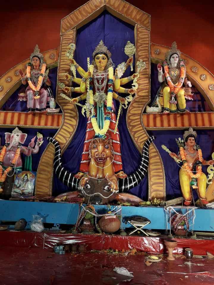 মহিষাসুর মর্দিনী 🙏🏻 - ShareChat