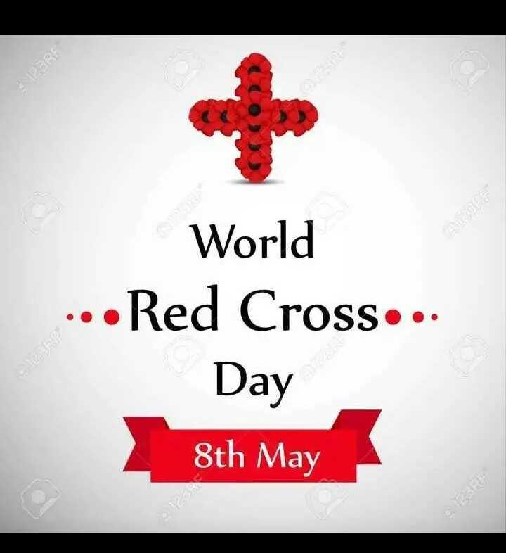 রেড ক্রস ডে - World . . . Red Cross . . . Day 8th May - ShareChat