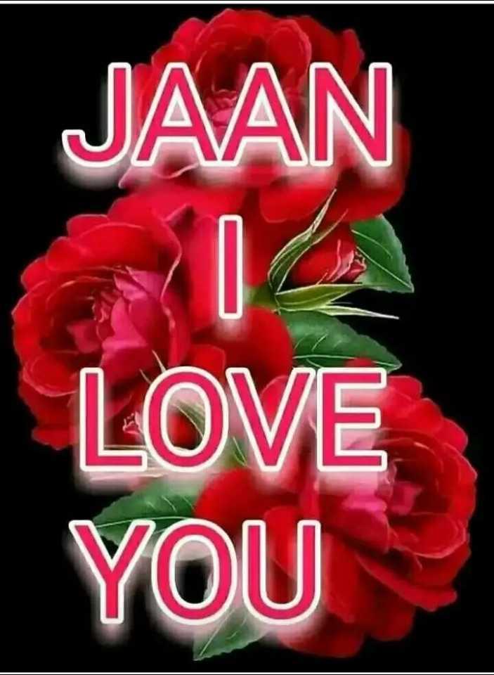 💑রোমান্টিক ছবি - JAAN LOVE YOU - ShareChat