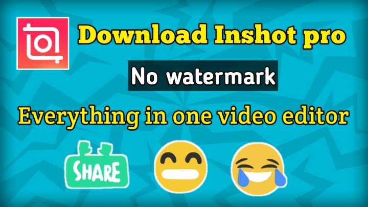 লাগাম ছাড়া হাসির ভিডিও🤣 - Download Inshot pro No watermark Everything in one video editor ( SHARE Ea - ShareChat