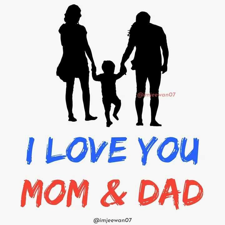 💝 শুধু তোমারই জন্য 💝 - @ imee wan07 I LOVE YOU MOM & DAD @ imjeewan07 - ShareChat