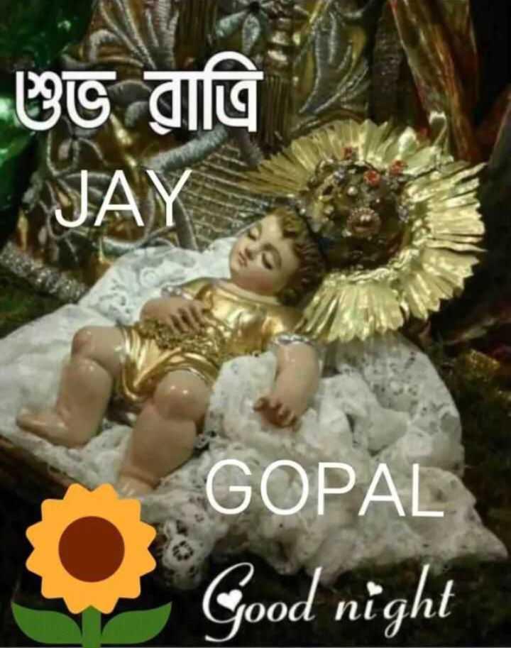 🙌শুভকামনা - শুভ রাত্রি । GOPAL Good night - ShareChat