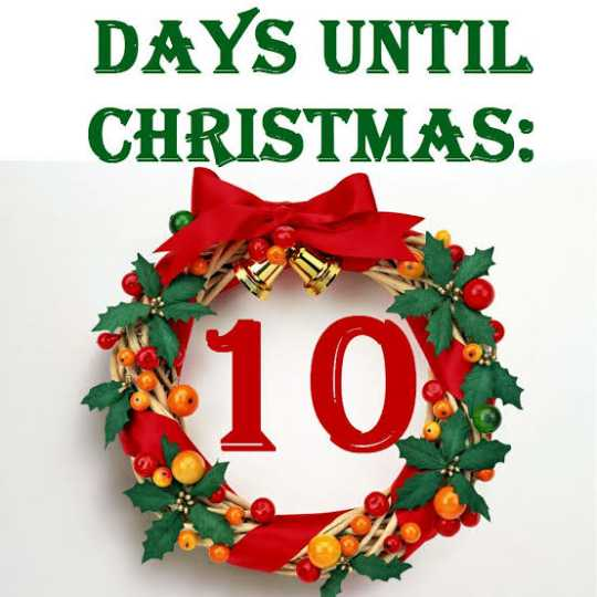 🙌শুভকামনা - DAYS UNTIL CHRISTMAS : 10 . - ShareChat