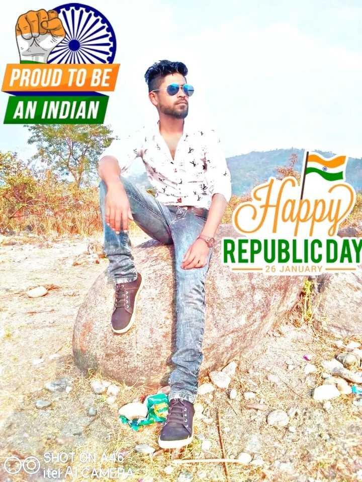শুভ প্রজাতন্ত্র দিবস - PROUD TO BE AN INDIAN OTIDDU REPUBLIC DAY 26 JANUARY SHOT ON A 6 0 itel AL CAMERA - ShareChat