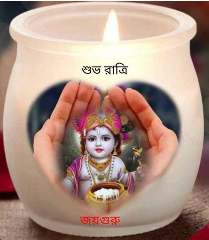 🌑শুভ রাত্রি - শুভ রাত্রি জয়গুরু - ShareChat